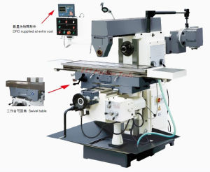 Horizontal Milling Machine with CE Approved (Horizontal Milling Machine XL6136) pictures & photos
