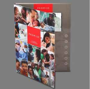 4.3inch Video Brochure with Customized Printing pictures & photos