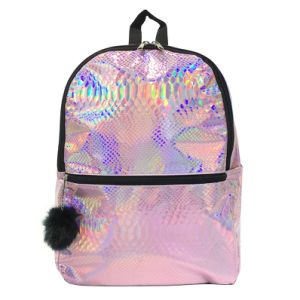 Wholesale Custom Laser Color Backpack Fashion Shoulder Bag School Bag