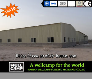 Qatar Project Steel Sheet Steel Structure Warehouse pictures & photos