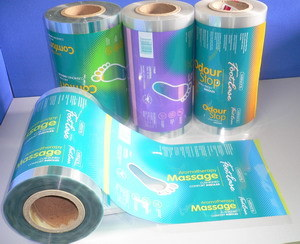 Plastic Roll Film for Insoles Automatic Packaging