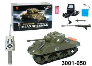 1: 30 USA M4a3 RC Tank - Ordinary Edition (3001-050)