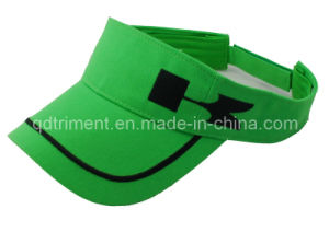 Heavy Brushed Cotton Twill Embroidery Sport Visor Hat (TRNV033) pictures & photos