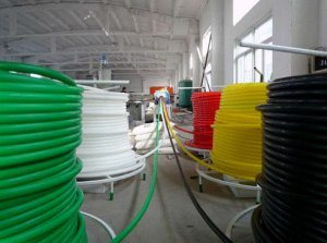 Corrugated Optic Duct (COD) Pipe Plastic Machine Line pictures & photos