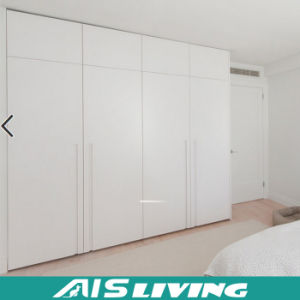 Hanging Clothes Storage Cabinet 2 Door Furniture (AIS W044)