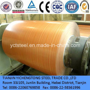 Prepainted Wooden Pattern Steel Coils pictures & photos