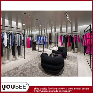 Ladies′s Clothes Clothing Retail Shop Interior Design