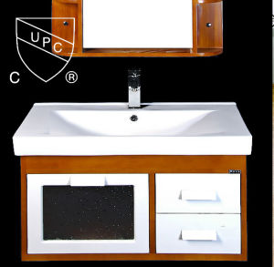 Bathroom Middle Edge Ceramic Cabinet Basin for North America (SN1538-80)