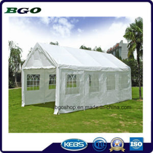 Camping Tent PVC Coated Tarpaulin Cover Sunshade (1000dx1000d 20X20 670g) pictures & photos