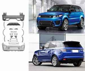 China 2014 2015 Range Rover Sport Svr Style Body Kit China Range