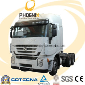 430HP 6X4 Hongyan Iveco Genlyon Tractor Truck Head pictures & photos