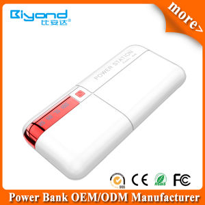 Fashionable Mobile Power Bank 10000mAh with LCD