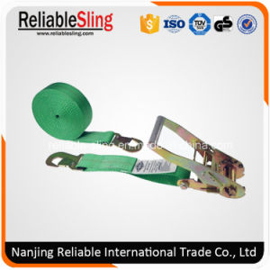 2inch 10000lbs Quick Release Solid Color Cargo Trailer Lashing with Metal Hooks pictures & photos