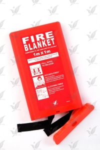 Fire Fighting Fiberglass Blanket with Silicon Coated pictures & photos