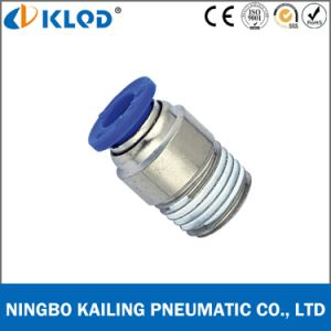 Pneumatic Round Male Straight One Touch Fittings for Air Poc4-02 pictures & photos