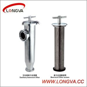 Sanitary Stainless Steel Beerwort Filter pictures & photos