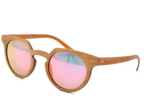 New Multi-Color Wood Frame Sun Glasses pictures & photos