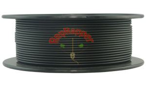 Well Coiling PLA 3.0mm Black 3D Printing Filament