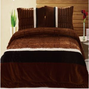 Claasic Luxury Patchwork Quilt Bedding Set (NA1423-5)