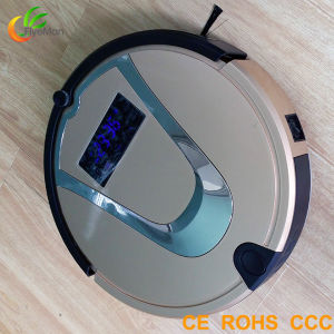 2015 Smart Self Charging Mini Robot Vacuum Cleaner pictures & photos