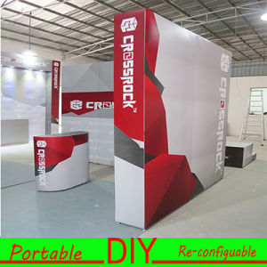 Design Custom Single Sided Portable Modular Reusable Trade Show Stands pictures & photos