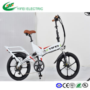 High Power Inside Battery Electric Foldable Bike pictures & photos