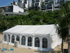 6*9m Small Tent with PVC Window Sidewalls for Sale pictures & photos