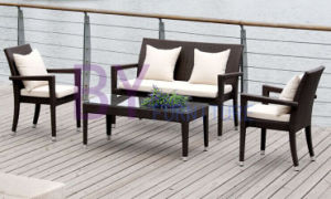 by-444 Leisure Patio Villa Tea Table and Chair Rattan Sofa
