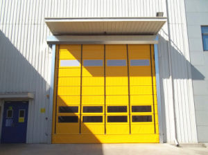 High Speed Folding Stacking Gate Door pictures & photos