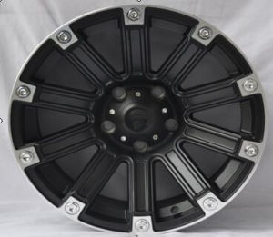 Black Car Alloy Wheels 17 Inch Forged Black Aftermarket Aluminum Wheels pictures & photos