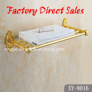 Sanitary Ware Golden Color Towel Rack (8016) pictures & photos