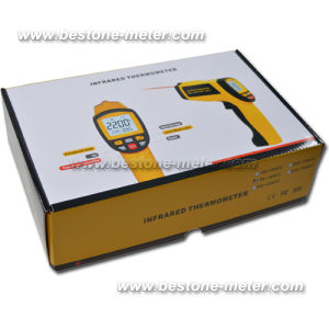 Digital Non-Contact High Temperature Infrared Thermometer Be1651 pictures & photos