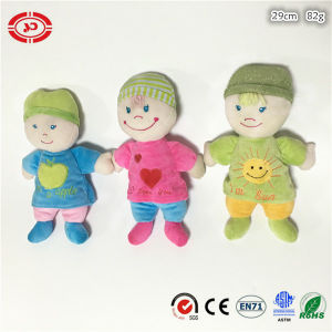 Three Colors Boy Kids Gift Doll Plush Soft Stuffed Toy pictures & photos