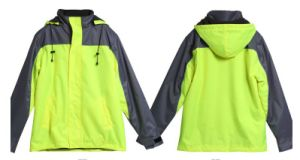 Safety Protective Clothing for Construction with Hoodie Drawstring pictures & photos