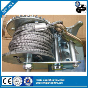 Industrial Wire Rope Winch 2000lbs pictures & photos