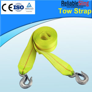CE ISO Approved High Tensile Polyester Towing Lifting Strap En 12195-2 pictures & photos