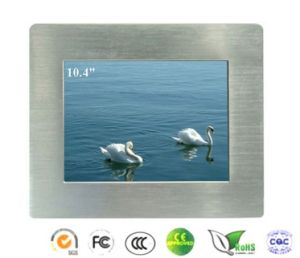 10.4 Inch Embedded Industrial Touch Panel PC with Intel N2807+Nm10 pictures & photos