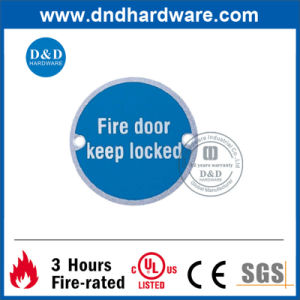 Fire Door Indication Sign Plate pictures & photos