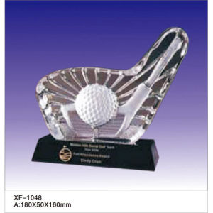 Customized Cheap Trophy with Crystal pictures & photos