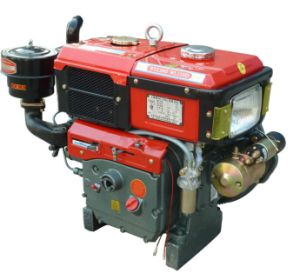 15HP 195 Water Cooled Single Cylinder Diesel Engine (WL15)