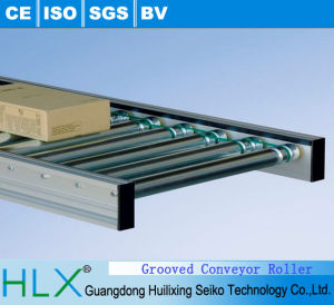 Grooved Conveyor Roller in Hlx pictures & photos