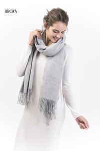 100% Alashan Cashmere Scarf; Ladies Fashion Cashmere Scarf (12BR-230101-3.1) pictures & photos