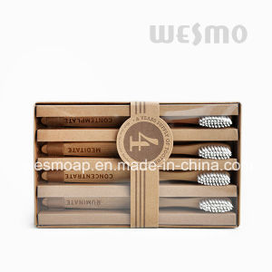 4-PC Set Eco-Friendly Bamboo Toothbrush (WBB0804C) pictures & photos