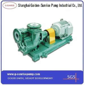 Fzb Series Fluorine Lined Self-Priming Centrifugal Chemical Pump