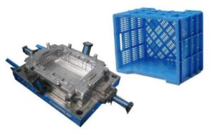 Turnover Box Plastic Mould Design Manufacture Plastic Crate Mold pictures & photos