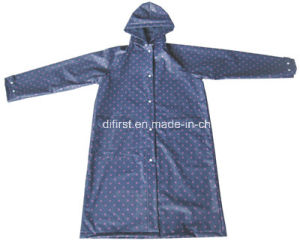 EVA Polyester Raincoat with Waterproof (DFZ005) pictures & photos