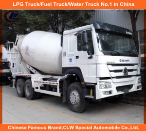 Heavy Duty Sinotruk HOWO 14m3 Concrete Mixer Truck 371HP pictures & photos