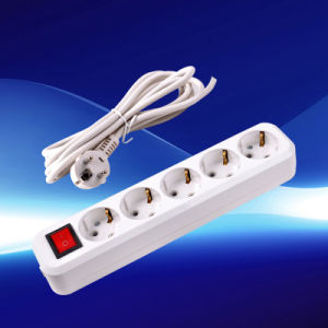 European Extension Power Strip with Earthing