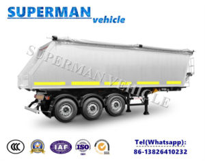 Heavy Duty Dry Cargo Tipper Trailer/Tipping Dumper Semi Truck Trailer pictures & photos