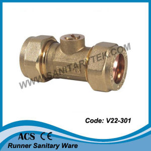 Isolating Valve with Compression Fitting (V22-301) pictures & photos